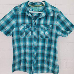 Marmot Plaid Shirt M 8-9y